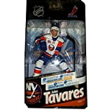 Mcfarlane Nhl Hockey 6 Inch Action Figure Series 24 - John Tavares White Jersey Silver Level/1000 Variant