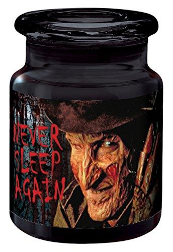ICUP 8336 Nightmare On Elm St Never Sleep Again Jar, Multicolor ()