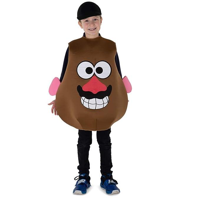 Dress Up America Mr. Potato Costume For Kids Disfraces, Multi, One ...
