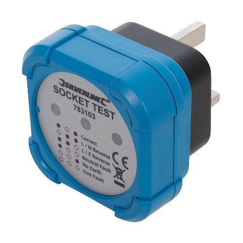 Silverline Socket Tester 50mm dia