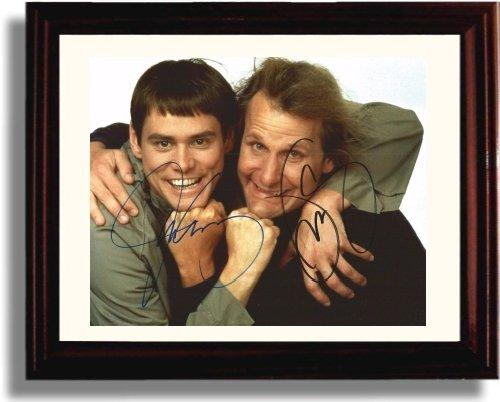 Framed Cast of Dumb and Dumber Autograph Replica Print - Dumb and Dumber -