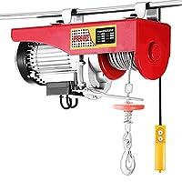 Happybuy 1320 LBS Lift Electric Hoist 110V Electric Hoist Remote Control Electric Winch Overhead Crane Lift Electric Wire Hoist