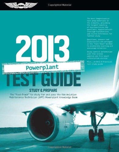 - Powerplant Test Guide 2013: Study & Prepare The
