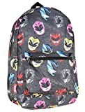 Official Power Rangers Masks Sublimated All Over Print Backpack