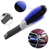 Automotive : Tire Brush Household Rim Cleaning Brush Multi-purpose for Car Motorcycle Bike Wheels Bumper Kitchen Bathroom