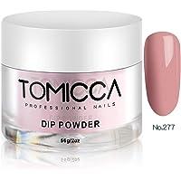 TOMICCA Nail Dipping Powder Nail Art Dust Powder (Dark Pink 277)