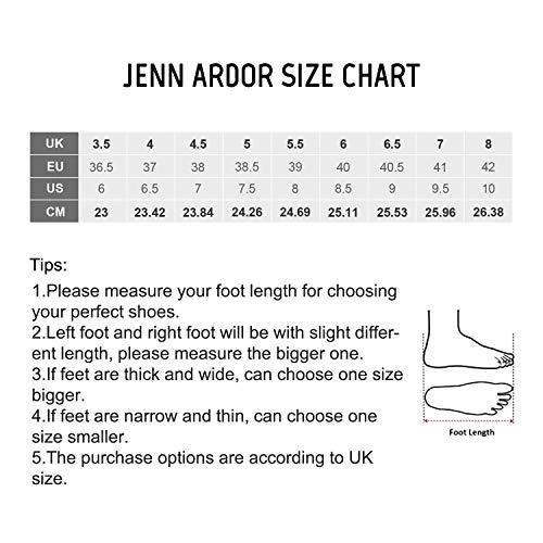 JENN Ardor - Sandalias con Cuña de Piel Mujer: Amazon.es: Zapatos y complementos