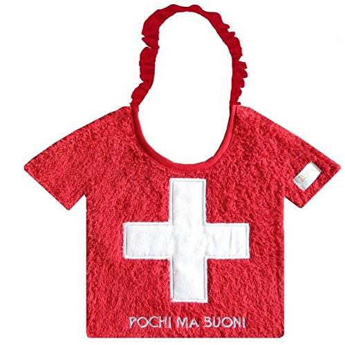 Zigozago - Baby Bib SWISS t-shirt - Tie: Elastic - One Size