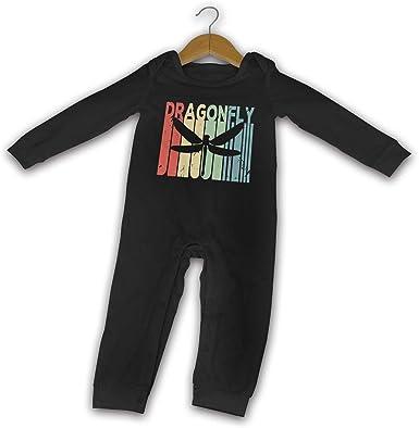 Babys Long Sleeve Romper,Flying-Dragons Jumpsuit Bodysuit Clothes