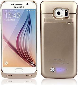 Forhouse Funda batería Samsung Galaxy S6 G9200, 4200mAh Funda de ...