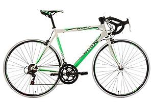 KS Cycling Herren Fahrrad Rennrad Piccadilly RH 55 cm, weiß-grün, 28, 232R