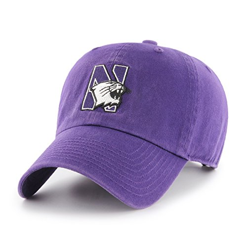 Northwestern Wildcats Fitted Hats. NCAA Northwestern ... ee7b972ec1ff