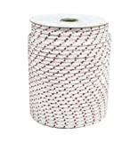 Sports Parts Inc 85-206-02 Nylon Starter Rope - Polyester - White/Red - 7/32in. Diameter