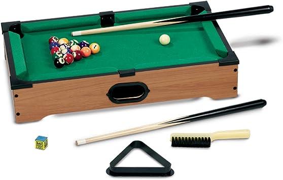 Grandi Giochi - Mini Mesa de Billar (GG95010): Amazon.es: Juguetes y juegos