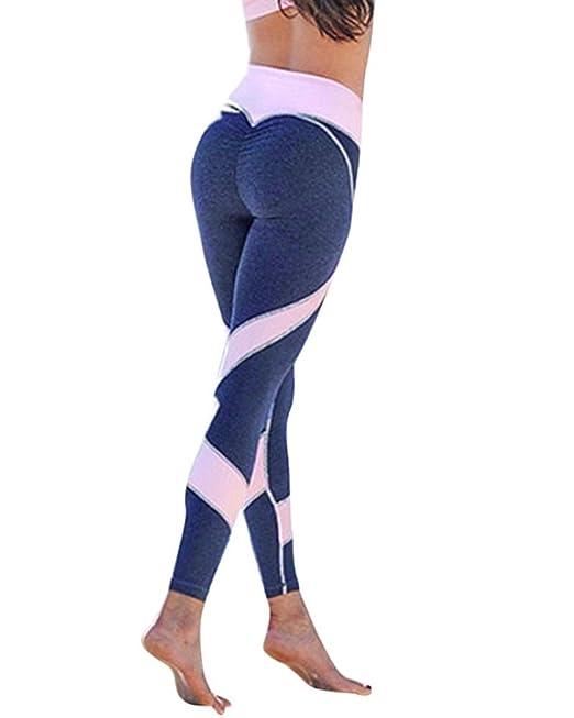 Mujer Cintura Elásticos Yoga Sport Pantalones Deportivas de Alta Cintura Impreso En 3D Stretch Fitness Leggings