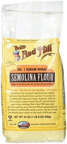 Bob's Red Mill Semolina Pasta Flour - 24 oz