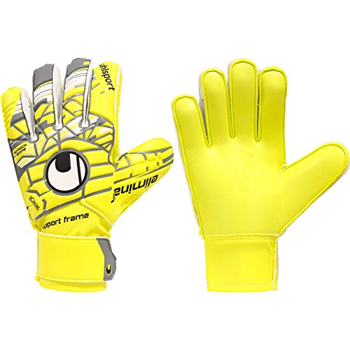 Uhlsport Player (UHLSPORT ELIMINATOR SOFT SF JUNIOR Goalkeeper Gloves Size 6 Yellow)