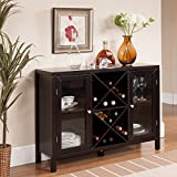 Product review for K & B Espresso Finish Wine Rack