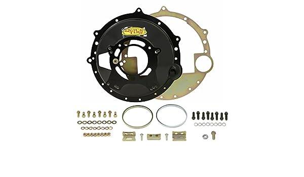 QuickTime (rm-6037) Chevrolet LS1 - Motor para Ford TKO - /tr3550/T5 Mustang transmisión bellhousing: Amazon.es: Coche y moto