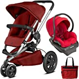 Quinny - Buzz Xtra Travel System with Bag - Red Rumor