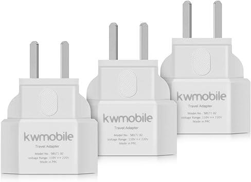 kwmobile 3X Adaptador de Viaje para Australia: Amazon.es: Electrónica