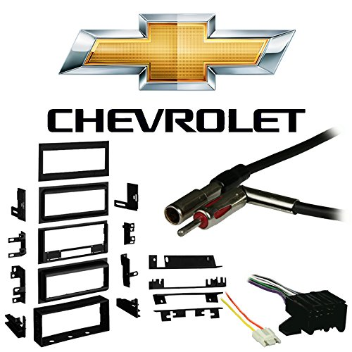 Fits Chevy Suburban 1988-1991 Single DIN Harness Radio Install Dash Kit ()