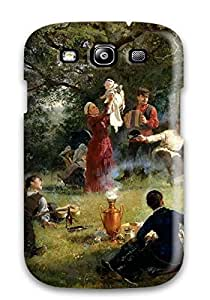 New Cute Funny Painting Case Cover/ Galaxy S3 Case Cover by icecream design