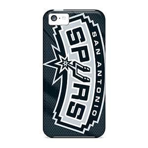 Brand New 5c Defender Case For Iphone (san Antonio Spurs)