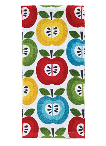 T-Fal Textiles 100% Cotton Fiber Reactive Printed Kitchen Dish Towel, 19