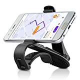 Car Phone Holder, Siroflo Car Phone Mount, HUD Car Mount, Anti-Slip Dashboard, Fixed Line Groove, No Blocking for Sight, Safe Driving for Cell Phone, Samsung, LG, Google Pixel, GPS Under 6.5 Inchs Etc