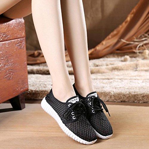 Donna da Scarpe Sneaker Traspirante e da Donna da Donna Scarpe Leggero Sneaker Scarpe comode Donna Corsa A Ginnastica Estive Casual Beauty Scarpe per Luo Zeppa Camminare awR6qIIvx