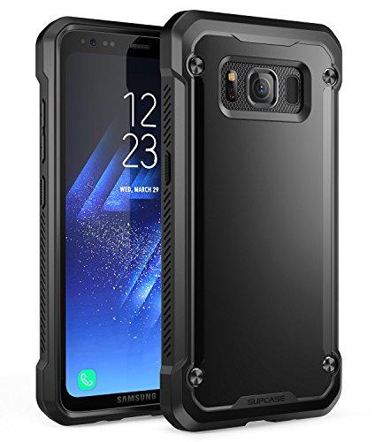 Samsung Galaxy S8 Active Case, SUPCASE Unicorn Beetle Series Premium Hybrid Protective Frost Clear Case for Samsung Galaxy S8 Active 2017 Release (Not Fit Regular Galaxy S8/S8 Plus) (Black/Black)