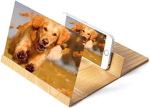 leegoal Pantalla de Aumento para Teléfono Celular,3D HD ...