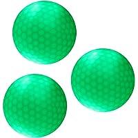 Gazechimp 3 Pedazos de Bola Pelota de Golf
