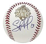Kansas City Royals Salvador Perez Signed Autographed Auto 2015 World Series Game Baseball JSA COA