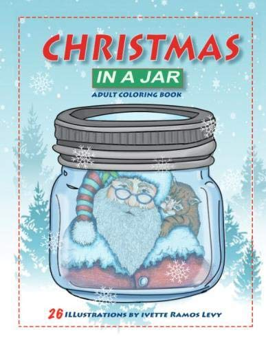 Christmas in a  Jar: Coloring Book for Adults ()