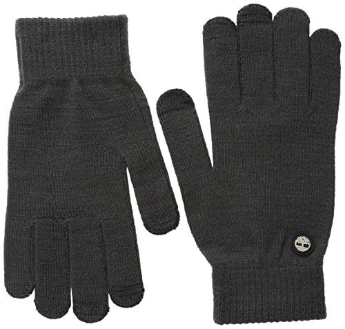 Timberland Men's Knit Magic Glove with Touchscreen Technology, Charcoal, One Size