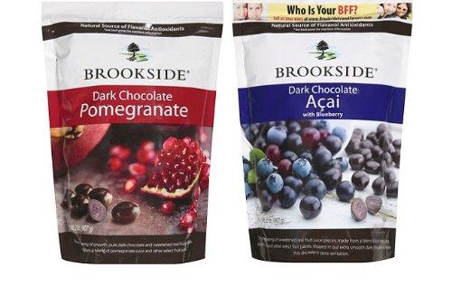 Hershey Brookside Dark Chocolate Pomegranate and Fruit Fl...