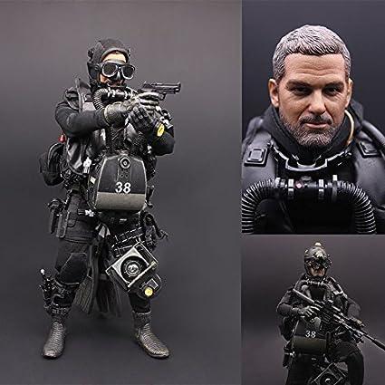 Amazon com: bumy 1:6 United States USSOCOM Navy Seal UDT