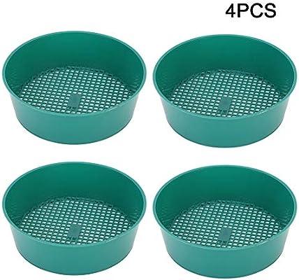4 Piezas de plástico de Malla de jardín de jardinería tamiz ...