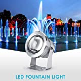 eecoo LED Underwater Lights IP68 Waterproof