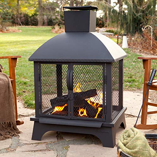 Jur_Global Redford Outdoor Fireplace (Outdoor Fire Places)
