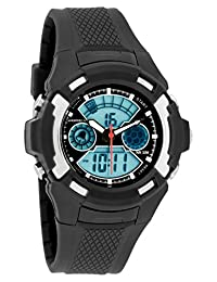 Men's Watches by Sportech - Digital Black Water Resistant Sport Watch - Make Every Second Count - SP10615