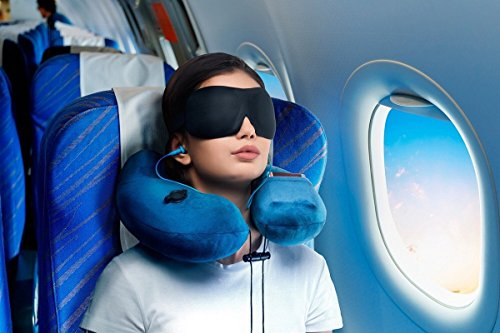 Luxury 3D Sleep Mask + Earplugs Random Color Prime Quality Soft Breathable Comfortable Eyemask Black for Travel And Home Eye Shade