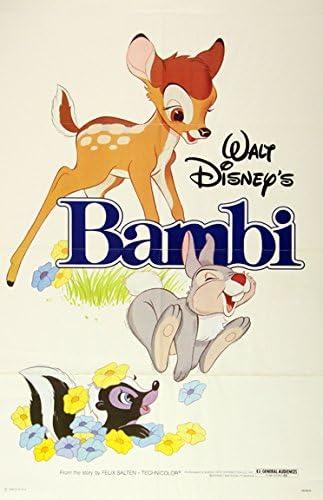 "Walt Disney Bambi Movie Poster Replica 13x19/"" Photo Print"