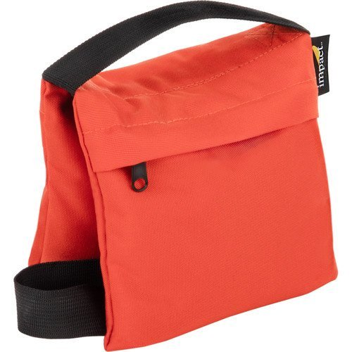 Impact Saddle Sandbag (5 lb, Orange) by Impact