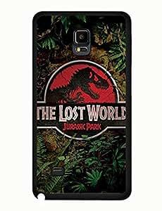 Jurassic Park Designed Classic Theme Dinosaur Movie Samsung Galaxy Note 4 Anti Scratch Case yiuning's case