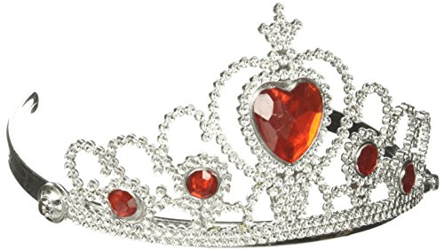 Ruby Heart Tiara (Toddler Queen Of Hearts Halloween Costume)