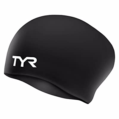 TYR Sport Long Hair Silicone Swim Cap