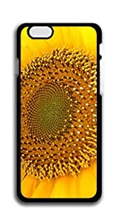 TUTU158600 Custom Cover Case with Hard Shell Protection case for iphone 6plus - Sunflowers in full bloom